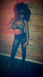 Lil Miss Thang: On Set