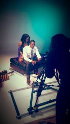 Cooking up the Heat; The Ting Video shoot