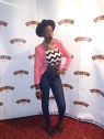 Yours Truly. Me on the red carpet