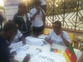 YEFON team at work