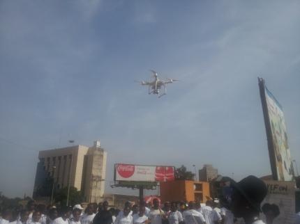 Kmer Drone Boy at work!