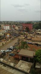 Street view of the city of Bamenda