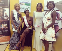 L2R: Miss Judith, miss Chantal , Miss Fon and Miss Stephanie